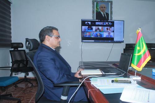 Le ministre des Pêches participe par visioconférence aux travaux de la conférence des ministres de la commission sous régionale des pêches