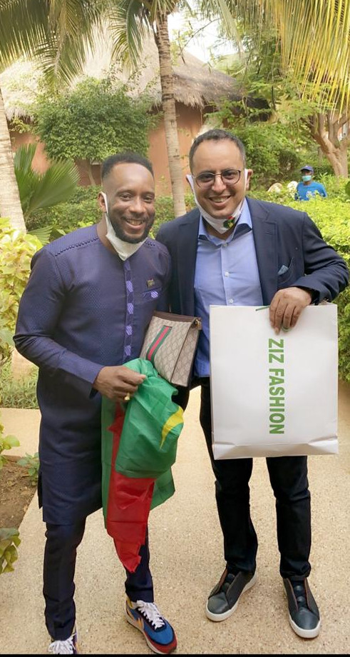Match Sénégal - Mauritanie : ZIZ FASHION à l'AIBD pour accueillir les Mourabitounes.