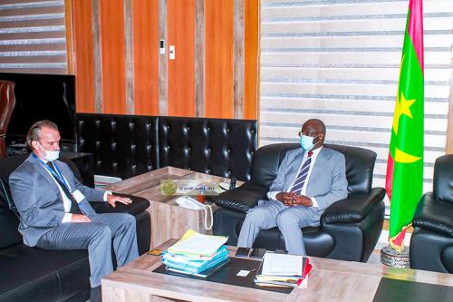 Le ministre de l'intérieur reçoit le représentant du bureau du Haut-Commissariat des Nations Unies aux droits de l'Homme