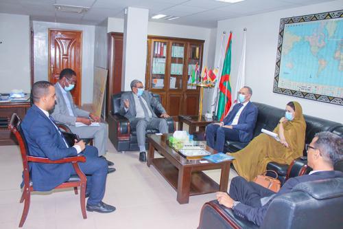 Le président de la CCIAM s'entretient avec le Représentant résident de l'UNICEF