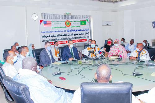 Lancement des activités du groupe parlementaire d'amitié Mauritanie-USA