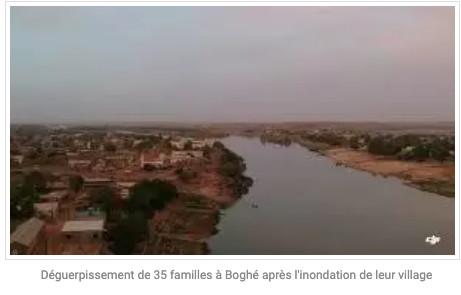Déguerpissement de 35 familles à Boghé après l'inondation de leur village
