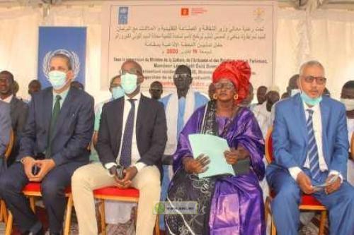 Gorgol: Le Ministre de la Culture inaugure une radio dans la ville de Maghama
