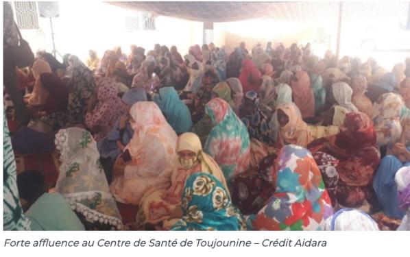 Centre de santé de Toujounine, une journée avec les femmes handicapées sur la planification familiale
