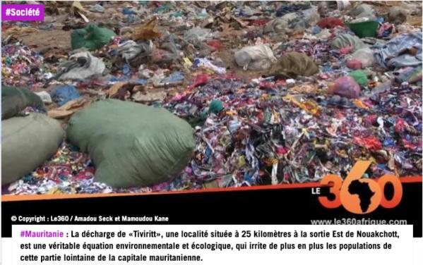 Mauritanie : arrestations après une manifestation contre une décharge