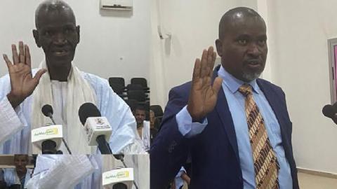 HAPA : Mamoudi Sy et Abdallahi Dieng prêtent serment