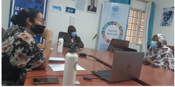 Lancement de l'initiative Peace Space, en collaboration avec l'ONG Amam