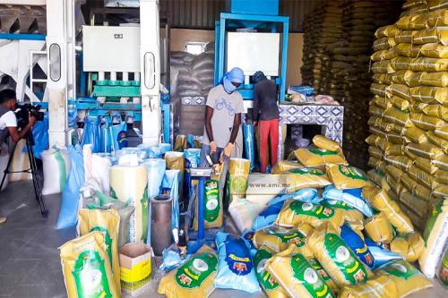 Rosso : Plusieurs opportunités d'emploi offertes par les usines de décorticage de riz