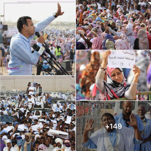 Des milliers de Mauritaniens appellent au boycott de produits français