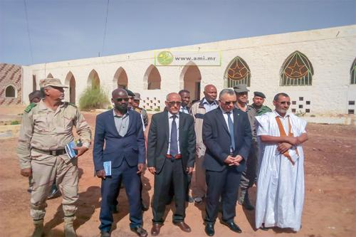 Le président de la Commission nationale des Droits de l'homme tient des rencontres avec les autorités régionales à Aioun