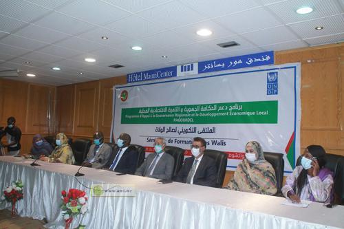 Nouakchott : Renforcement de capacités des walis