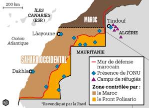 Des routiers en détresse à la frontière mauritano-sahraouie