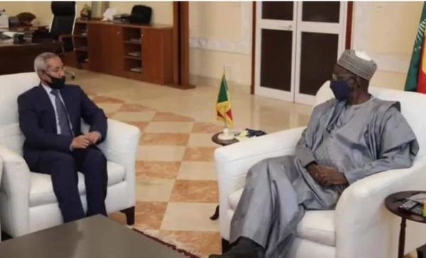 Le ministre mauritanien de la défense reçu par le premier ministre malien