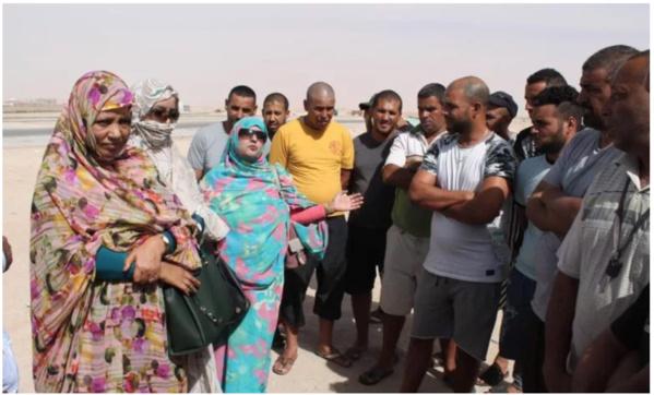 Une délégation parlementaire se rend auprès des chauffeurs marocains bloqués à Nouakchott