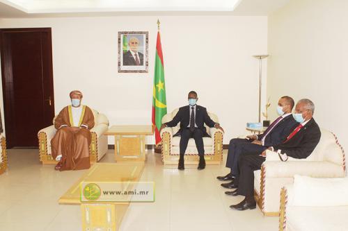Le Premier ministre reçoit l'ambassadeur omanais