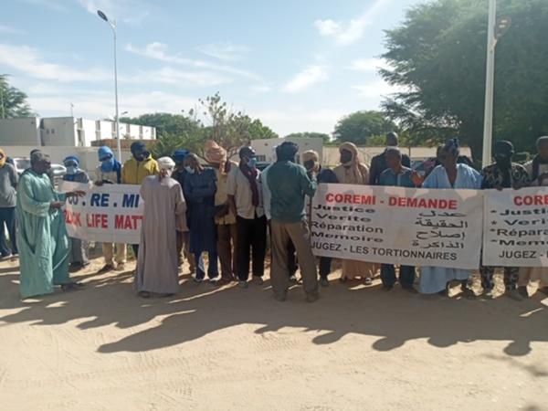 Sit-in CCVE : « nous n'acceptons plus que des ONG cartables parlent au nom des victimes que nous sommes», dixit l'ex capitaine, Sy Aboubacrine
