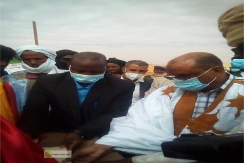 Adrar : Pose de la première pierre des logements des fonctionnaires à Tounmend