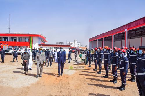 Le ministre de l'Intérieur supervise la sortie de 7ème promotion des sapeurs pompiers