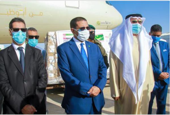 Le ministère de la Santé réceptionne des aides médicales offertes par les Émirats Arabes Unis