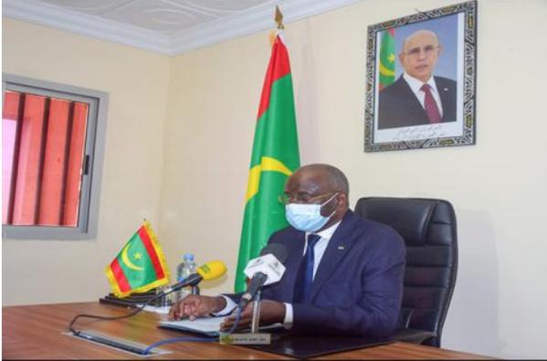 Le ministre de l'Intérieur préside une visioconférence sur l'immigration