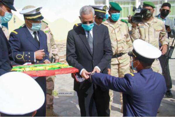 Sortie de la 1ère promotion d'élèves-officiers de la marine nationale et marchande