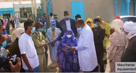 Mauritanie: remise de lots de produits et équipements médicaux à certains hôpitaux