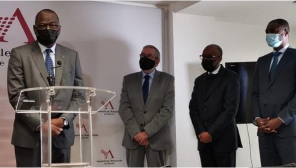 La Mauritanie s'ouvre comme une opportunité commerciale aux hommes d'affaires murciens