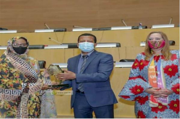 L'Union Africaine octroie au Président de la République un prix de considération