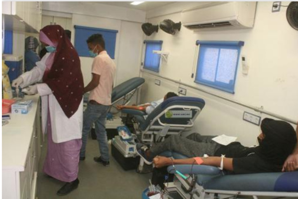 Organisation d'une journée de don volontaire de sang