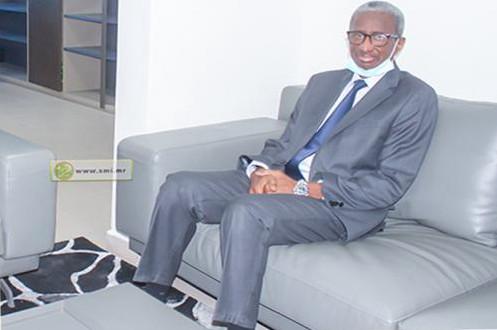 M. Diallo Mamadou Bathia, président du conseil constitutionnel