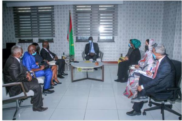 Le ministre des Affaires économiques reçoit une délégation de la Banque Mondiale