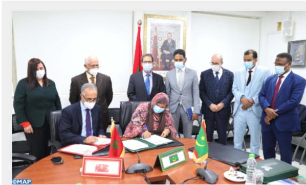 Signature d'une convention-cadre de partenariat entre Rabat-Salé-Kénitra et la région de Nouakchott