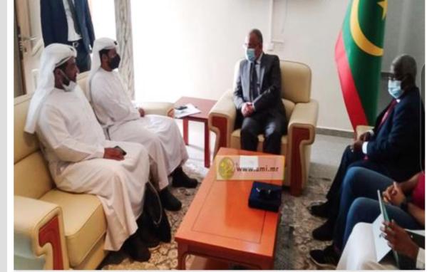 Une délégation émiratie de haut niveau visite la Zone franche de Nouadhibou