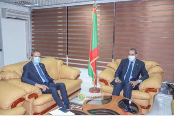 Le ministre de la Culture reçoit l'ambassadeur du Royaume du Maroc en Mauritanie