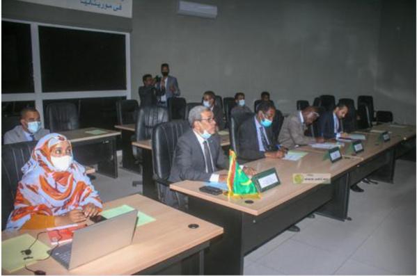 Réunion des chambres de commerce mauritanienne et ukrainienne dans le cadre du Webinaire d'affaires entre les deux pays