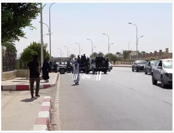 Nouakchott : Mesures draconiennes autour du palais de justice…photos