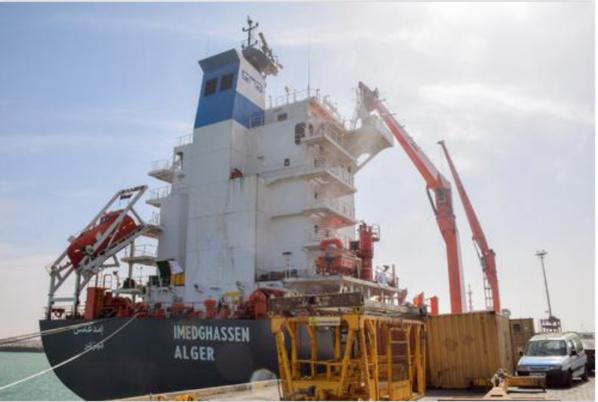Arrivée du premier cargo via une ligne directe Algérie- Mauritanie