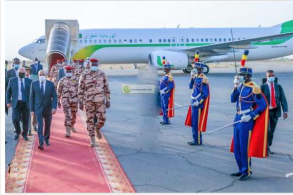 Arrivée du Président de la République à N'Djamena