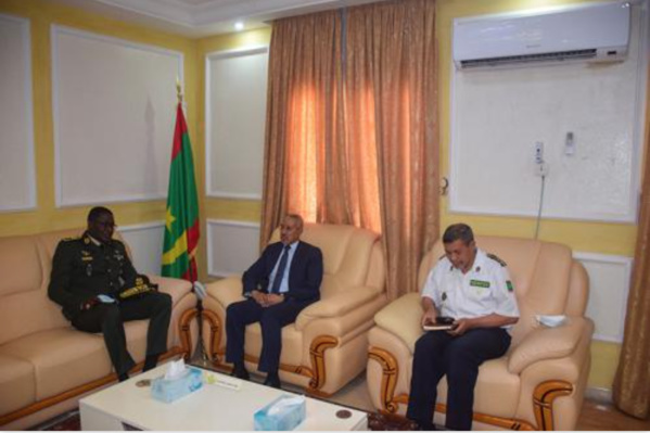 Le ministre de la Défense nationale reçoit l'inspecteur général des forces armées du Sénégal