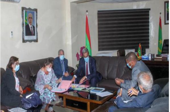 Signature d'un projet de gestion de la transhumance et du pastoralisme en Mauritanie