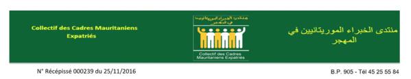 Le CCME solidaire de M. Ousmane Kane victime d'attaques injustes