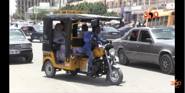 Mauritanie : les tricycles en force dans le quotidien des travailleurs de l'informel