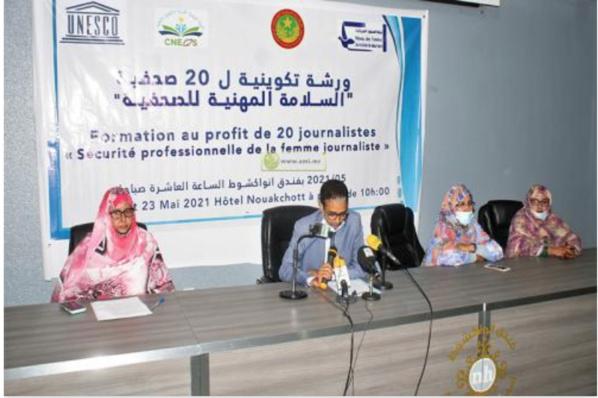 Le réseau mauritanien de femmes journalistes organise un stage de formation pour 20 journalistes