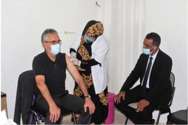 Vaccination du personnel de l'ambassade de France en Mauritanie
