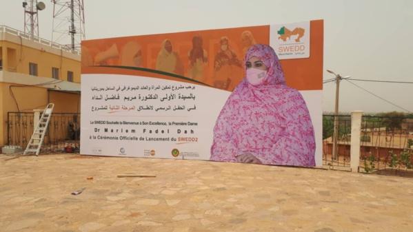 Phase 2 du Projet SWEDD: La Première Dame donne le top à Kaedi