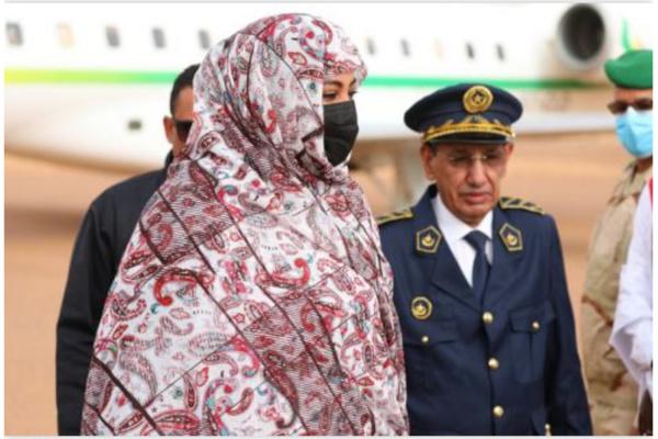 Arrivée de la Première Dame à Kaédi