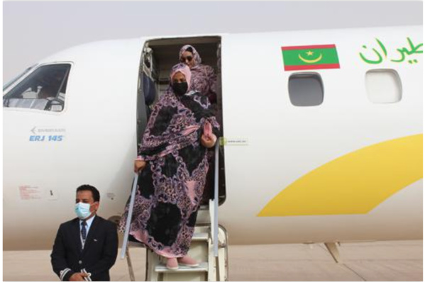 La Première Dame regagne Nouakchott