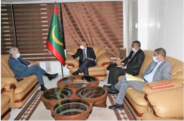 Entretiens au sujet de la protection du patrimoine historique entre la Mauritanie et l'Espagne