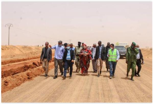 Le ministre de l'Équipement: Les trois tronçons de la route de l'Espoir doivent être achevés dans les délais impartis