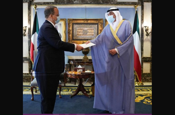 Message écrit du Président de la République à l'Emir de l'Etat du Koweït